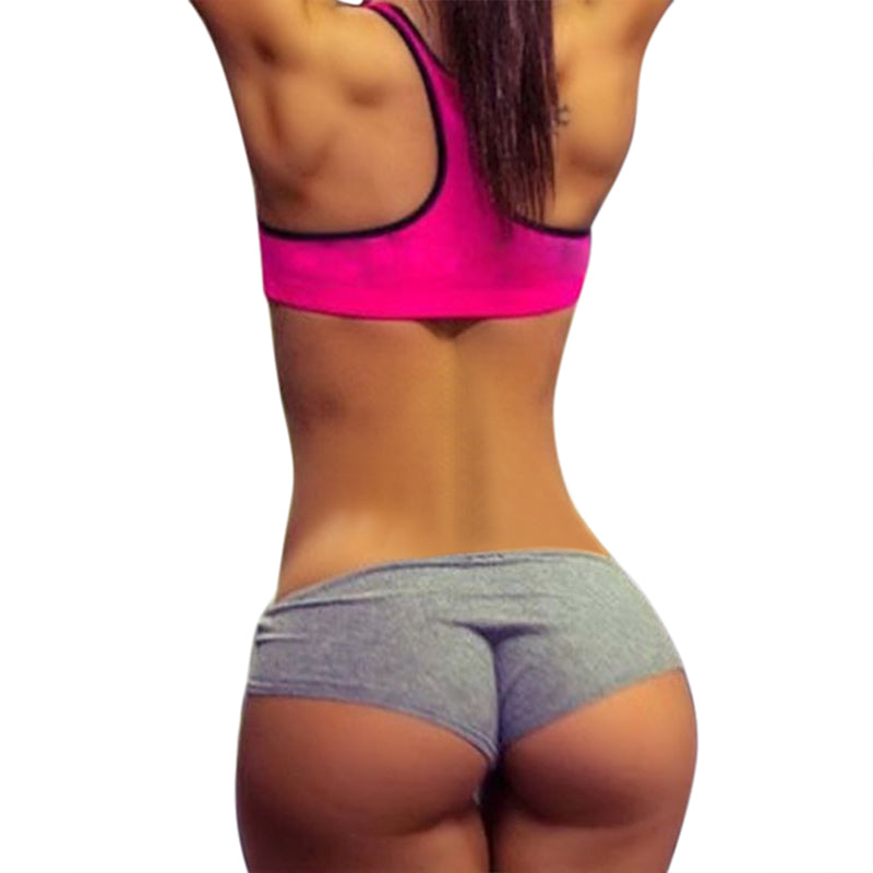 New Summer Sexy Shorts Women Fashion Fitness Hot Shorts Slim Casual Workout Waistband Skinny Short Short Feminino 2018 Hot Sale-geekbuyig