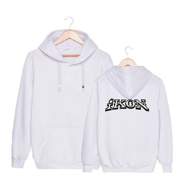 KPOP Korean Fashion IKON NEW KIDS BEGIN Album Concert Cotton Hoodies Hat Clothes Pullovers Sweatshirts PT492-geekbuyig