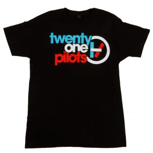 Twenty One Pilots T shirt Double Line Logo Men/Women shirts band Twenty One Pilots TOP Tees shirt-geekbuyig