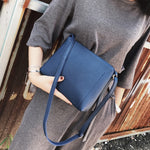 Women Messenger bag Solid Zipper luxury handbags women bags designer shoulder bag bags for women 2018-geekbuyig