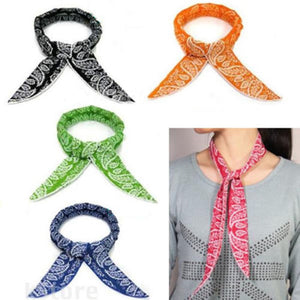 5 Styles Multifunction Non-toxic Neck Cooler Scarf Body Ice Cool Cooling Wrap Tie Headband Refreshing Bandana Wrist Towel Summer-geekbuyig