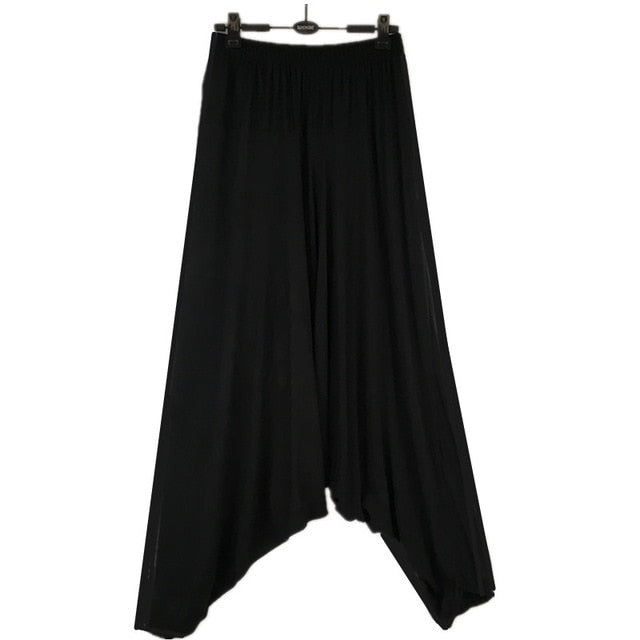2018 Spring men's cross pants,plus size M-5XL casual pants, dancing trousers,Harem wide leg Pants,bloomers casual trousers-geekbuyig
