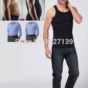 2018 ITFABS Newest Arrivals Fashion Hot Mens Slimming Body Shaper Buster Underwear Vest Compression S M L XL XXL-geekbuyig