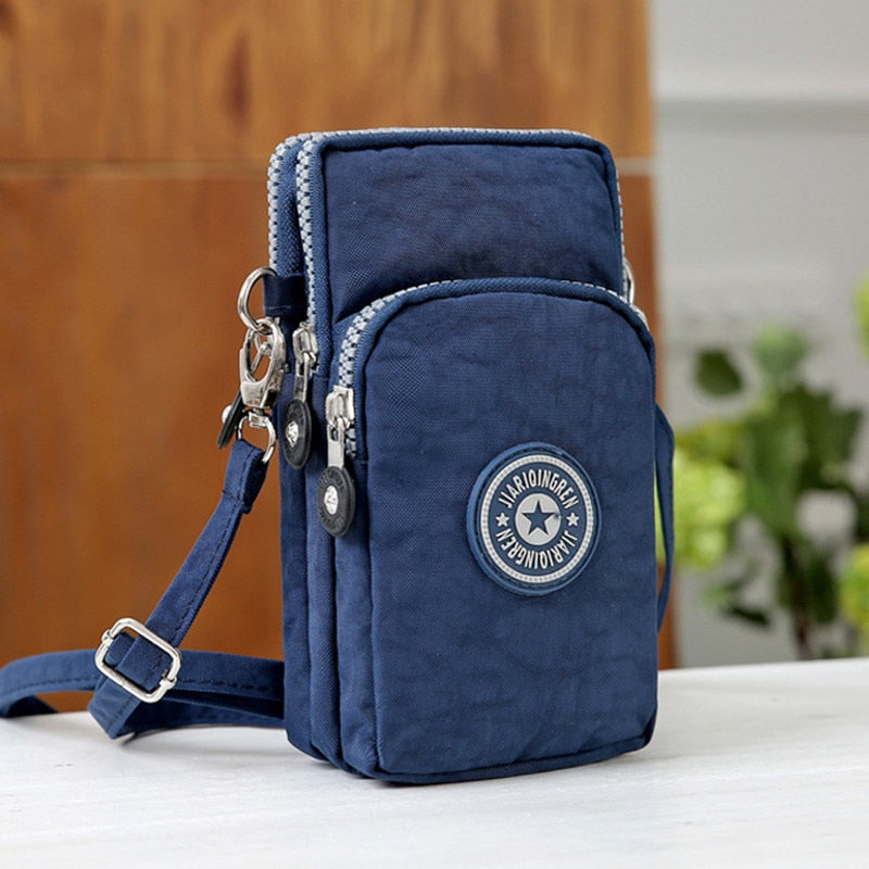 Small Shoulder Bags High quality Female nylon phone Bags mini Women Messenger Bags Women Clutch New 2018-geekbuyig