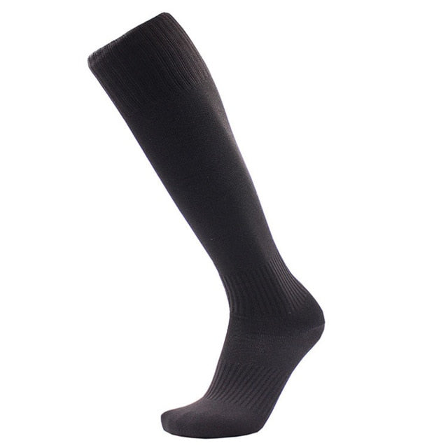 Professional Men Antifatigue Compression Socks Knee High Anti Fatigue Solid color Magic compression Socks-geekbuyig