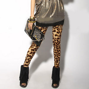 Women Sexy Leopard Leggings Lady Render Stretch-cotton Elastic Leggings  88 JL-geekbuyig