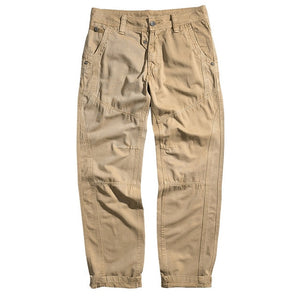 2018 Spring Autumn Hot Fashion Casual Trousers Men Cargo Pants Cotton Casual Slim Fit Straight Mens Pants-geekbuyig
