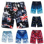 NIBESSER Brand Men Women Board Shorts Summer Fitness Beach Short Trunks Printed boardshort Loose Drawstring Casual Short homme-geekbuyig