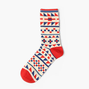 2017 New Happy British Wind combed cotton socks men women socks personality lover sock colorful fashion free size-geekbuyig