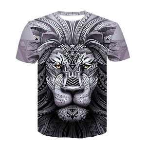 Wolf Warrior by SunimaArt 3D T shirts Men T-shirts New Design Drop Ship Tops Tees Short Sleeve Tshirt Camiseta Summer Animal-geekbuyig