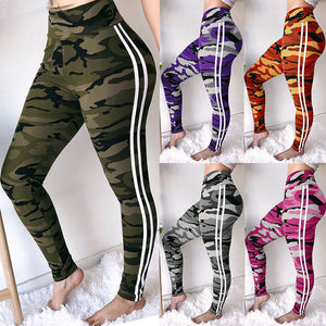5 Colors Women High Waist Camouflage Pants Fashion Pantalon Femme Trouser Ankle-Length Sweatpants Cotton Streetwear Camo Pants-geekbuyig