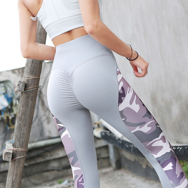 Leggings Women Polyester Camouflage Push Up Leggins Plus Size Fitness Pants Adventure Time Jeggings Workout Activewear Clothing-geekbuyig