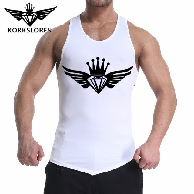 2018 Gyms Brand Clothes Gyms engineers Men's Singlets vest casual Gyms Body fitness men Bodybuilding loose cotton tank tops-geekbuyig