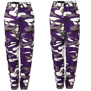 5styles Fashion Women Camouflage Pant High Waist Hiphop Camo Pant With Pockets Girls Military Pant Jogger Dance Pant-geekbuyig