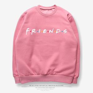Friends Tv Shows hoodies Sweatshirt women Harajuku print tops hooded pullovers Tumblr Jumper bff streetwear casual Tracksuit-geekbuyig