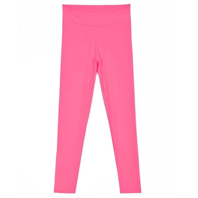 Pants Candy Women's Training Color Running New Sport Fitness Elastic Leggings-geekbuyig