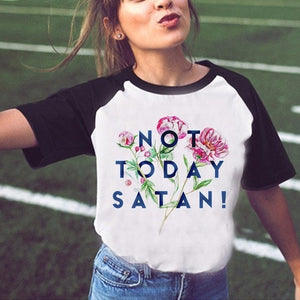 Funny Halloween Shirt Satan Vintage Women Tshirt Let's Summon Demons Graphic Tees Tops Harajuku Summer Tumblr T Shirt Female-geekbuyig