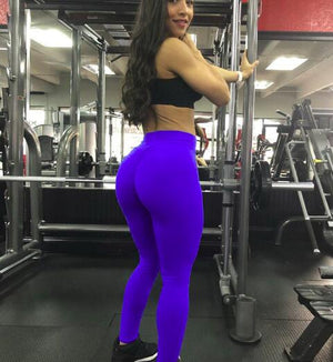 Leggings Femme Sexy Push Up Leggings Women Elastic Workout Pants Fashion Ladies Fitness High Waist Leggings Plus Size 10 Colors-geekbuyig
