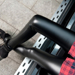 2018 New Black Faux Leather Leggings and Pants black Sexy Spring Summer Women Leggins Thin Leggins Push up Leggings-geekbuyig