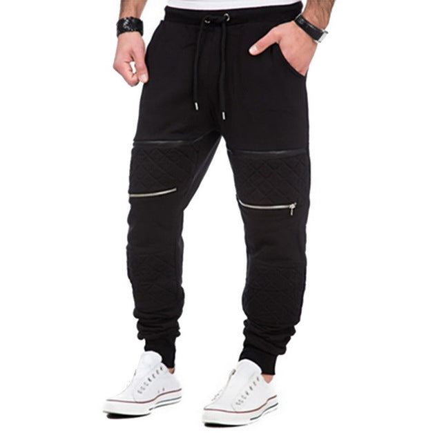 LASPERAL 2018 Men Joggers Male Calca Masculina Hip Pop Casual Trousers Track Pants Plus Size Clothes Letter Print Sweatpants-geekbuyig