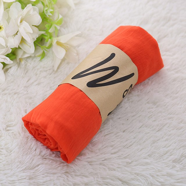 High Quality Cotton Linen Scarf Solid Color Monochrome Candy Colored Silk Femme Scarf Women Gift Scarf Beautiful Scarves-geekbuyig
