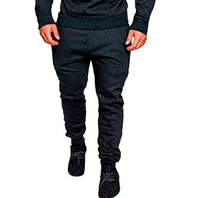 SHUJIN Men Sporting Pants Fashion Camouflage Print Jogger Sweaterpants 2018 Autumn Elastic Waist Trousers Hip Hop Skinny Pants-geekbuyig