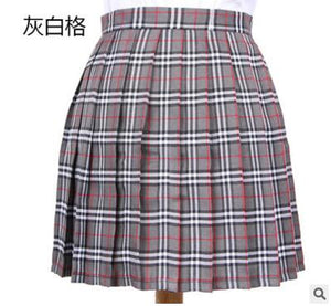 Women's Skirts Ladies Kawaii Pleated Skirt College Wind Cosplay Large Size Plaid Student Multicolor Skirt Female Korean Harajuku-geekbuyig