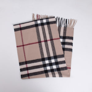 Jinjin.QC Women Scarf Luxury Brand Plaid Scarves and Wraps Mens Winter Cashmere Scarve Blanket Scarf Infinity Scarf-geekbuyig