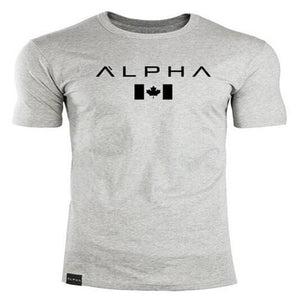 2018 New Brand Clothing Gyms Tight Cotton T-shirt Mens Fitness T-shirt Homme Gyms T Shirt Men Fitness Crossfit Summer Tees Tops-geekbuyig