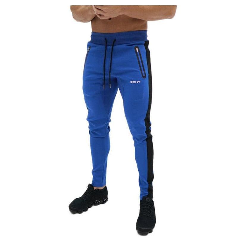 Autumn Fitness Gyms Men Pants Full Length printing Pants Sweatpants Fashion Trousers Casual Workout Workout Jogger Cotton Pants-geekbuyig