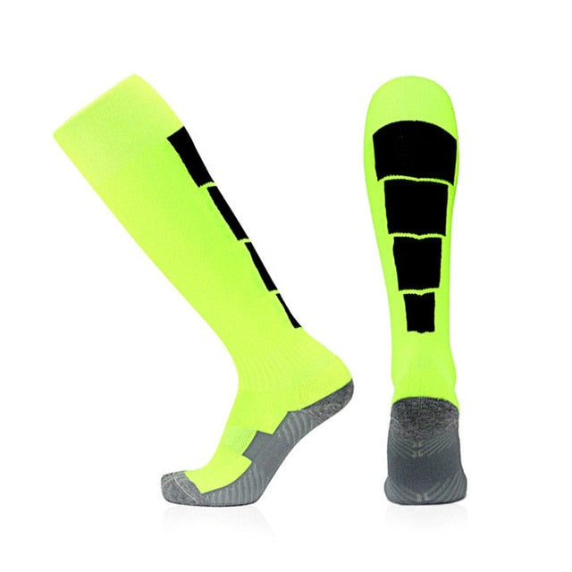 1 Pair Compression Socks Men Non Slip Sweat Absorbent Breathable Long Tube Socks Women Leg Support Stretch Sports Sock-geekbuyig