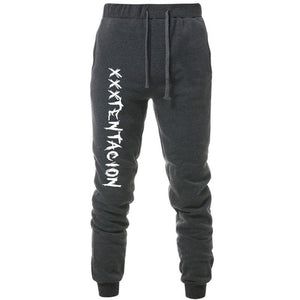 new pants men XXXTentacion printing hip hop Sweatpants Sporting Trousers Gyms joggers pants men pantalon homme harem pants men-geekbuyig