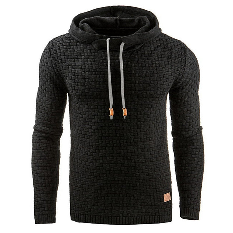 2019 New Autumn Men's Hoodies Slim Hooded Sweatshirts Mens Coats Male Casual Sportswear Streetwear Brand Clothing-geekbuyig