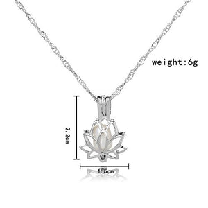 HENGSHENG Arrow Locket Cage Jewelry Set Pearl Oyster Pendant with 1 PC Real Oval Pearl in Charm-geekbuyig