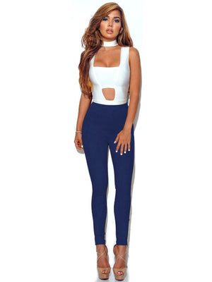Brand Quality Pencil Pant Sexy Skinny Bodycon Pants Women High Waist Leggings Joggers Capris Slim Stretch Suede Leather Trousers-geekbuyig