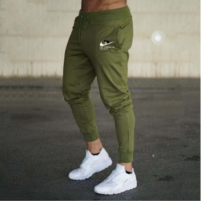 2018 New Men Joggers Brand Male Trousers Casual Pants Sweatpants Men Gym Muscle Cotton Fitness Workout hip hop Elastic Pants-geekbuyig