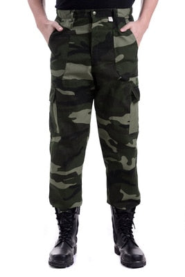 Y2336-A1361 Factory direct sale china cheap wholesale 2018 spring autumn new men fashion Thin section loose camouflage pants-geekbuyig