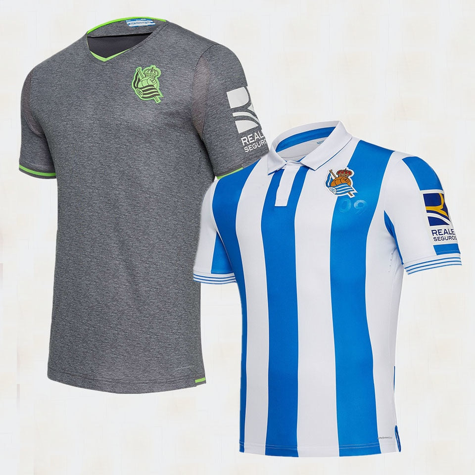 new 18 19 Real Sociedad T-shirt Casual shirts 2018 2019 Real Sociedad shirts New Leisure Best Quality Casual free shipping-geekbuyig