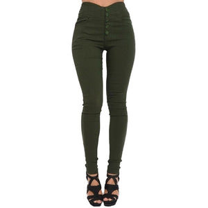 3XL 4XL 5XL Plus Size Joggers Sweatpants Women High Waist Pants Skinny Elastic Stretchy Slim Trousers female Casual Pencil Pants-geekbuyig