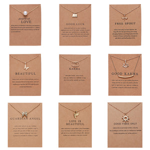 Fashion Gold-color Good Vibes Only Sun Necklaces & Pendants For Women Jewelry-geekbuyig