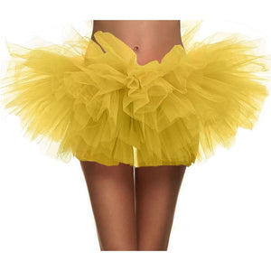 Fashion Sexy Women Adult Dancewear Tutu Pettiskirt Princess Mini Skirts AIC88-geekbuyig