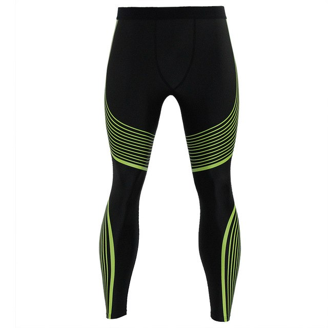 2017 new compression pants brand clothing bottom men's tights sports fitness long paragraph leggings pants casual pants men-geekbuyig