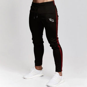 Mens Joggers Casual Pants Fitness Male Sportswear Tracksuit Bottoms Skinny Sweatpants Trousers Black Gyms Joggers Track Pants-geekbuyig