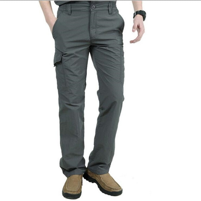 Spring Autumn Military Quick-Dry Cargo Pants Men Summer Casual Breathable Male Waterproof Tactical Trousers Joggers Sweatpants-geekbuyig
