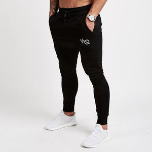 Mens Joggers Casual Pants Fitness Men Sportswear Tracksuit Bottoms Skinny Sweatpants Trousers Black Gyms Jogger Track Pants-geekbuyig