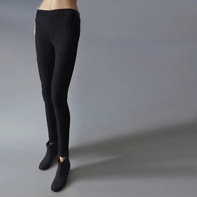 Autumn Warm Winter Leggings Sportingse Pants Elastic Hip Push Up Skinny Legging For Fitness Jegging Gothic Leggin Workout-geekbuyig