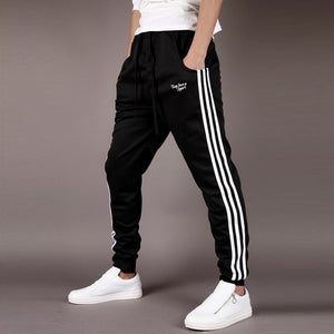 2018 Korean version of men's sports pants, fashion Haren pants, tide men's trousers.joggers-geekbuyig