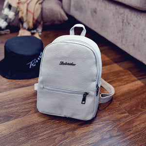 cad27a1044b6 2019 New Backpack Summer Small Women Backpack Candy Color Student ...