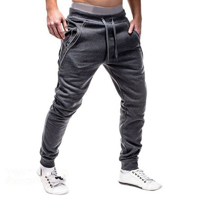 2018 Autumn Brand Gyms Men Joggers Sweatpants Men Joggers Trousers Sporting Clothing The high quality Bodybuilding Pants Hot-geekbuyig