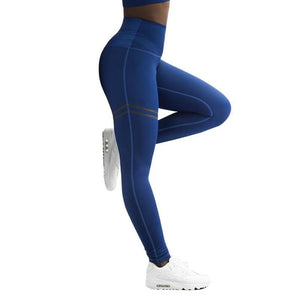 Activewear High Waist Fitness Leggings Women Pants Fashion Patchwork Workout Legging Stretch Slim Sportswear Jeggings-geekbuyig
